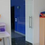 Скляні розпашні двері (1)