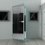 Скляні розпашні двері (5)